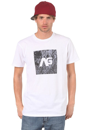 AG Moon Patrol Slim S S T Shirt white