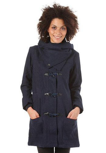 Womens Daffle Jacket heather navy