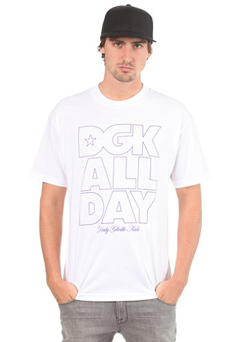 All Day Outline S S T Shirt white
