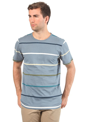 Allen S S T Shirt blue graphite