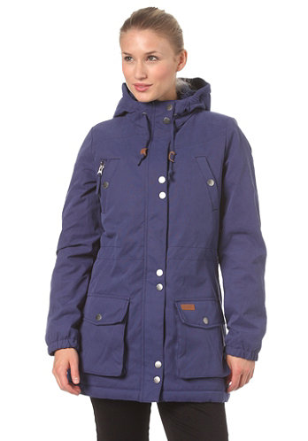 Womens Every Day Parka Jacket 2013 blue ribbon