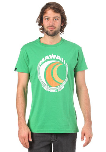 Ace Tropical S S T Shirt green