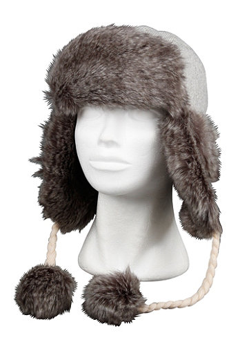 Womens Chanki Chanka B Hat heather grey