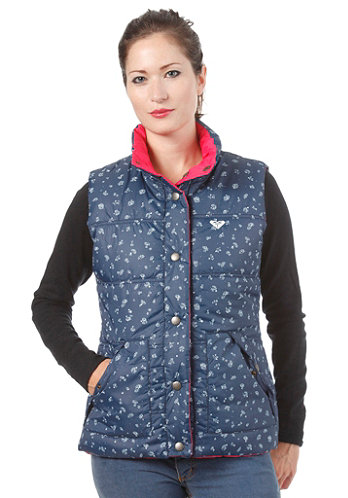 Womens Lucky Printed Jacket rasberry