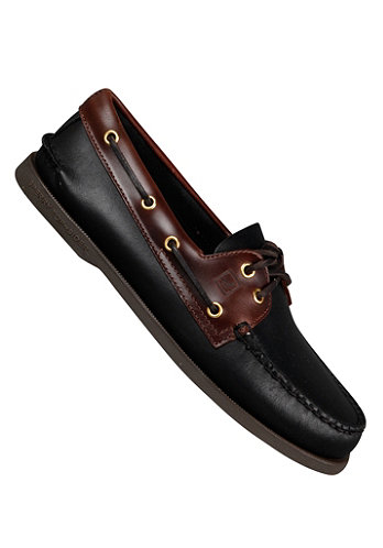2-Eye Leather black amaretto