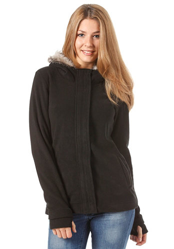 Womens Jaffy Fleece black