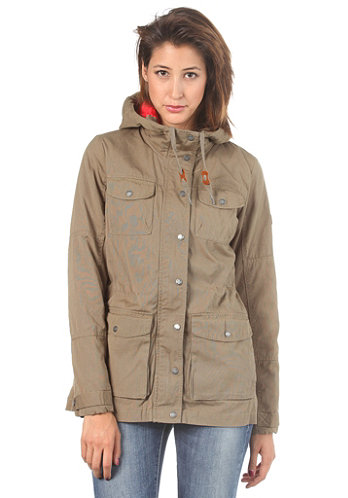 Womens Alpen Jacket dusky green