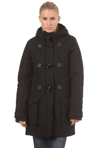 Womens Faroe Jacket bench black marl
