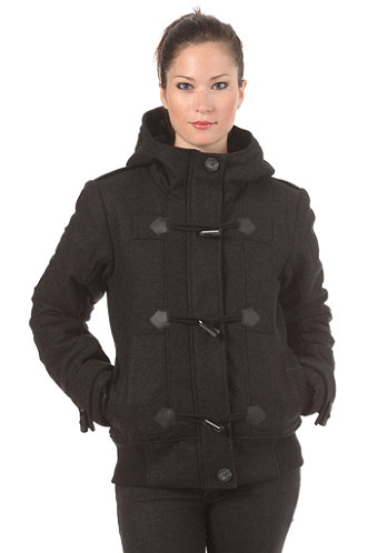 Womens Elami Jacket bench black marl