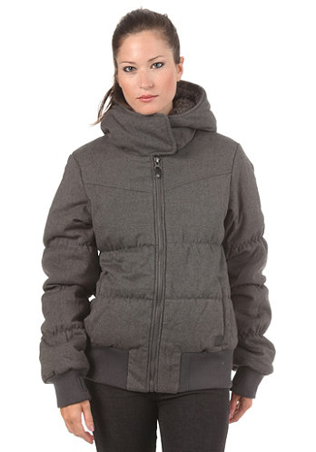 Womens Embasy Jacket dark grey marl