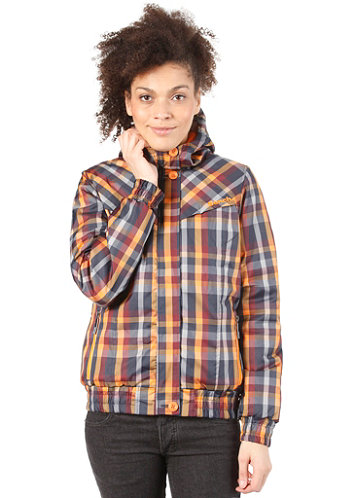 Womens Checkster Jacket total eclipse
