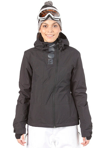 Womens Becky Block Jacket black