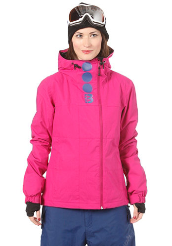 Womens Becky Block Jacket fuchsia red