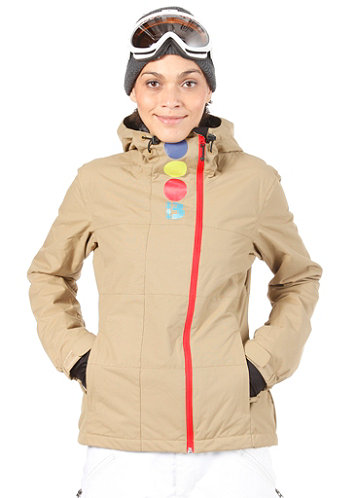 Womens Becky Block Jacket kelp