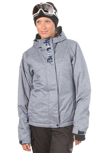 Womens Iddy Ice Jacket blues hatch