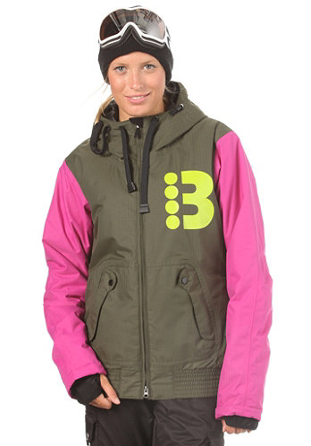 Womens B Honey Jacket forest night