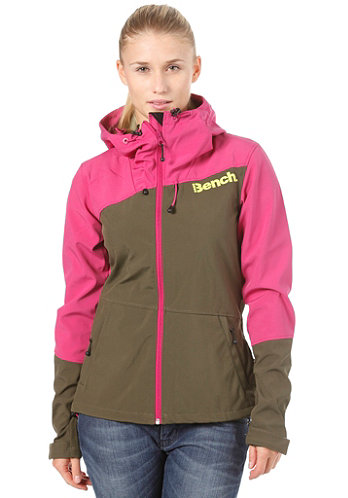 Womens Massy Match Softshell Jacket fuchsia red