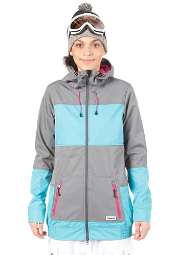 Womens Rin Tin Tin Softshell Jacket castlerock