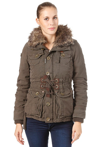 Womens Betti Plain Jacket olive