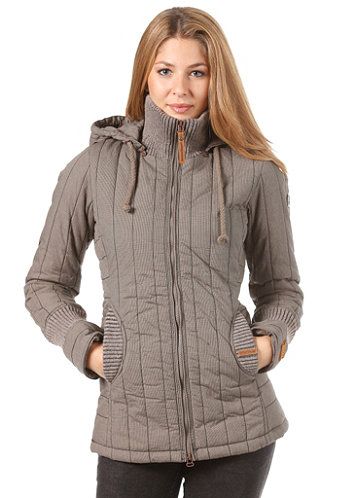Womens Retro Tweety Mix Jacket beige/grey pepita