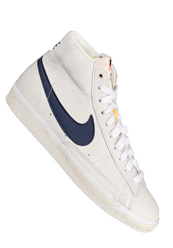 Blazer Mid Premium sail/midnight navy/white/gym medium brown