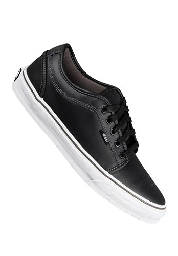 Chukka Low black leather/dark
