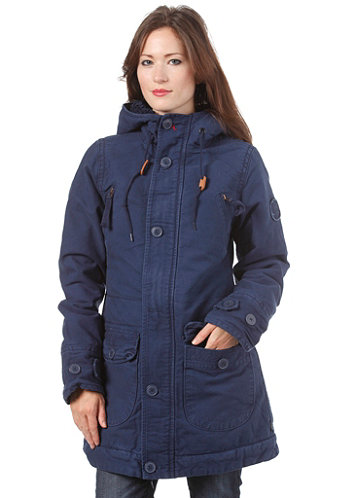Womens Fiss Jacket navy
