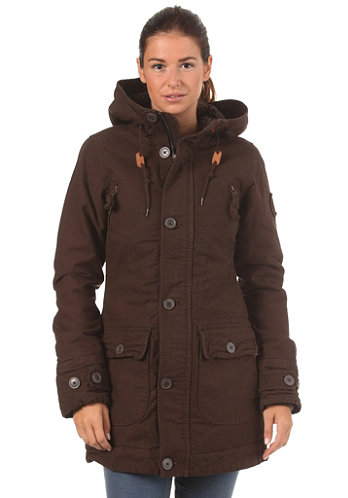 Womens Fiss Jacket brown