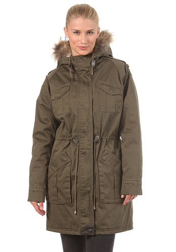 Womens Naomi Jacket true army