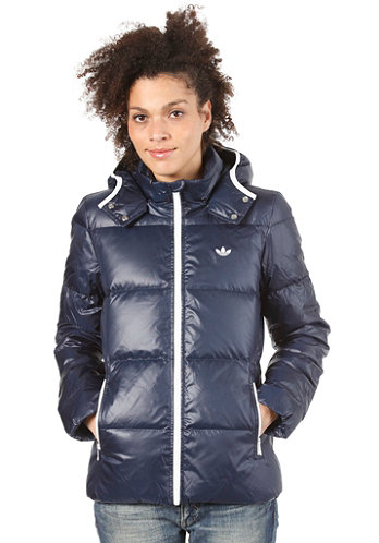 Womens Down Jacket dark navy