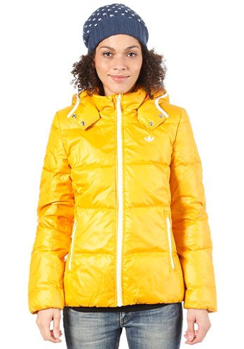 Womens Down Jacket craft gold