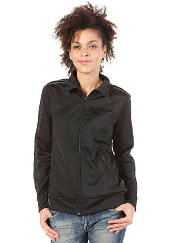 Womens Reptile Stripe Firebird Track Top black