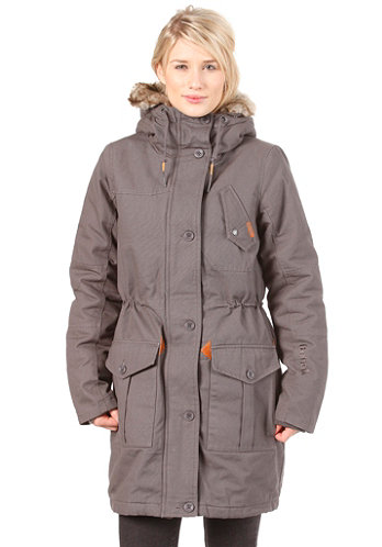 Womens Huyton Jacket dark shadow