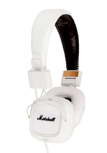Major Headphones white