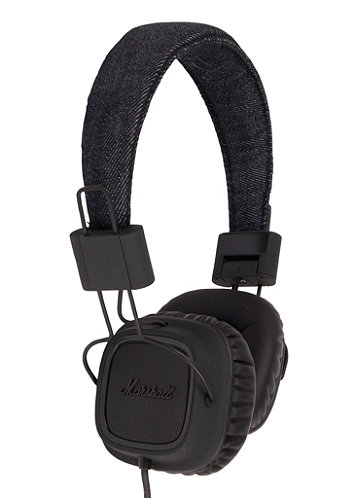 Major Headphones pitch black