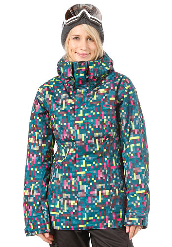 Womens Fit Insulated Jacket lightning green