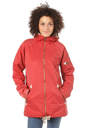 Womens Alphubel Jacket rosewood