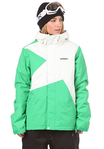 Womens Lucy Jacket 2013 green/white