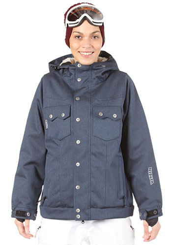 Womens Mayon Jacket dark denim