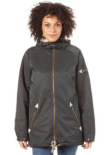 Womens Alphubel Jacket pirate black