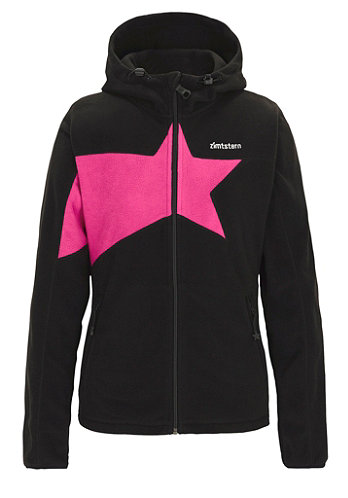 Womens Glimmer Jacket 2013 black/fuchsia