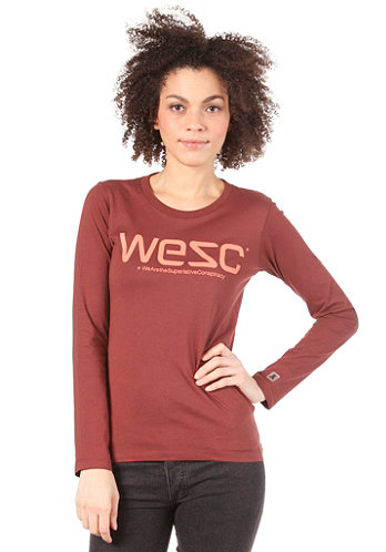 Womens L/S T-Shirt andorra red