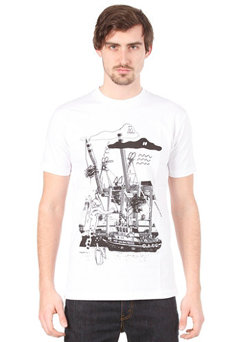 AALbatross S S T Shirt white