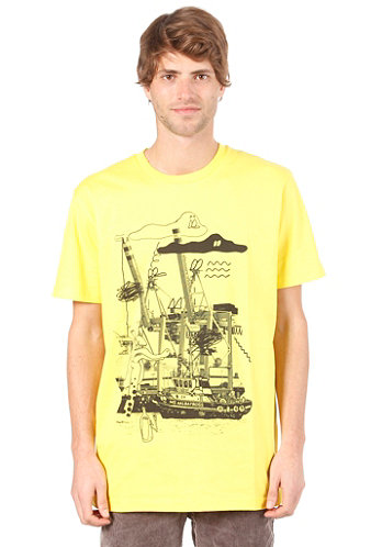 AALbatross S S T Shirt bright yellow