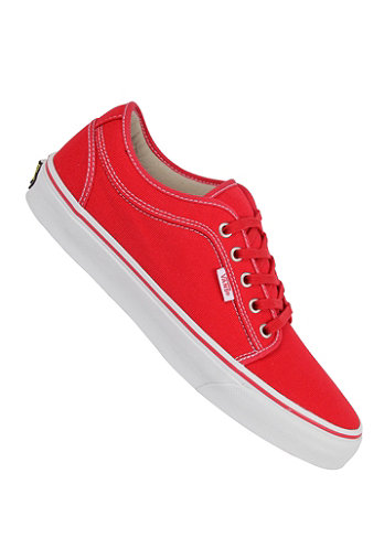 Chukka Low Shoe red/khaki/white