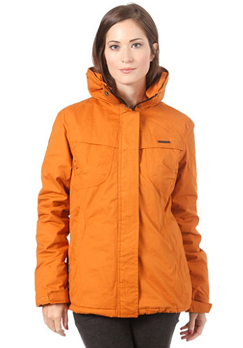 Womens Lynx Woven Jacket golden oak