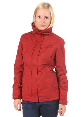 Womens Lynx Woven Jacket red