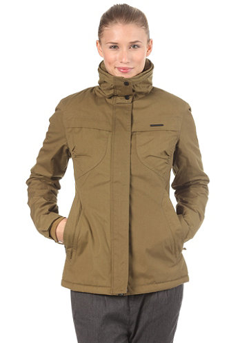 Womens Lynx Woven Jacket fir green