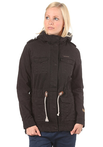 Womens Laika Woven Jacket black jack