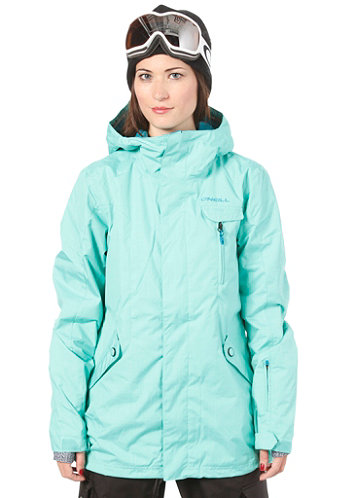 Womens Rainbow Jacket spearmint